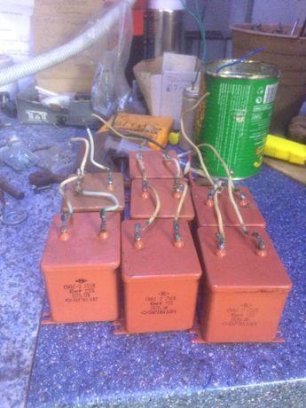 Конденсатори для пуску 3-х фазного ел.двигуна