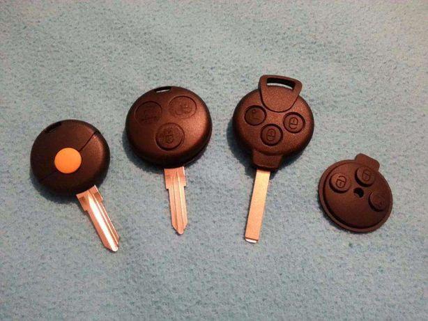 Carcaça capa comando chave smart 1 e 3 botoes todas geraçoes