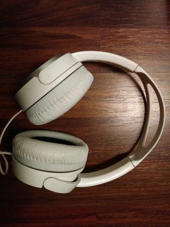 Sony słuchawki białe