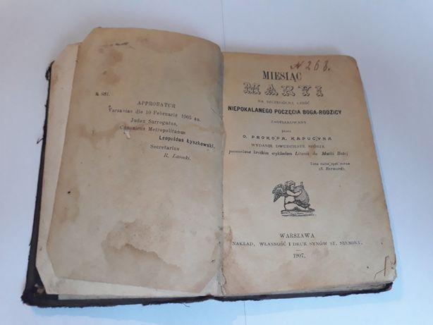 Modlitewnik, książeczka do nabożeństwa 1907 rok.