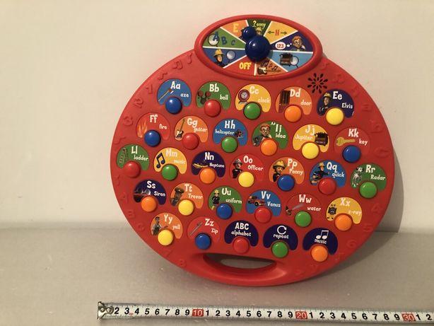 Интерактивная панель, планшет, алфавит Пожарный Сэм