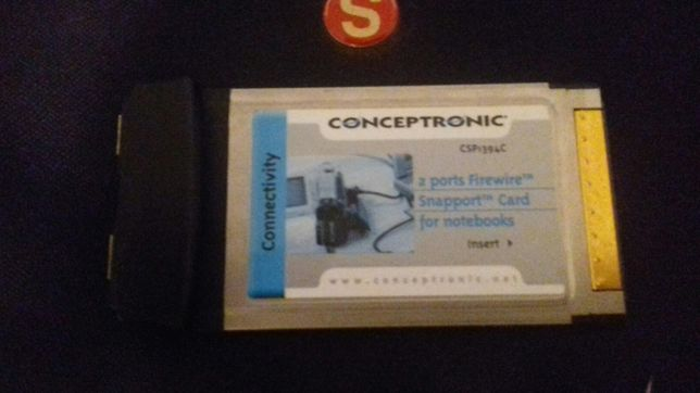 Conceptronic 2 ports firewire
