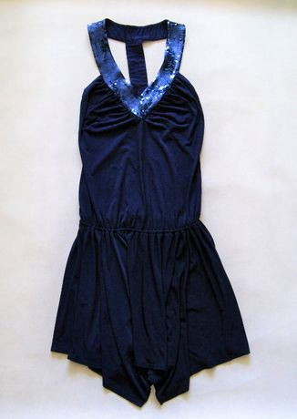 Lipsy sukienka cekiny odkryte plecy Sylwester 36/38 S/M stan idealny