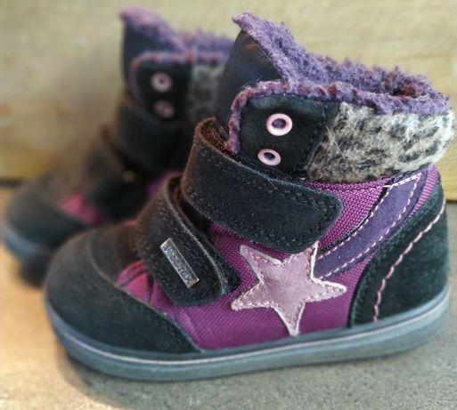 Детские зимние полусапожки, ботинки, кеды размер 24 (15-15,5см)
