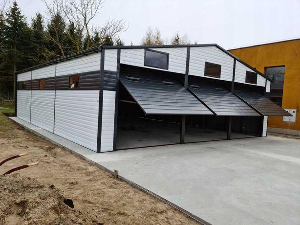 Garaż 10x12, 3-stanowiskowa hala z automatyczne bramy