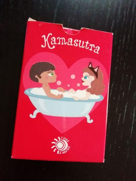 Baralho de cartas Kamasutra