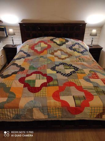 Piękna narzuta na łóżko Patchwork