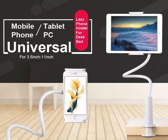 Suporte flexivel e mini tripe tablet ou telemóvel / smartphone NOVO