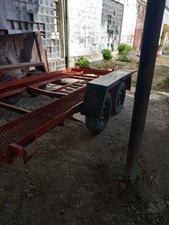 Лафет двухосный для перевозки автомобилей, квадроциклов