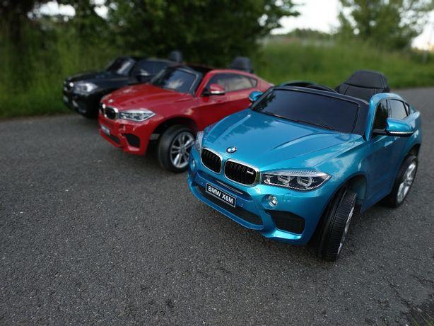 Auto Samochód Na Akumulator BMW X6M Skóra Pilot MP3 # Lakierowane