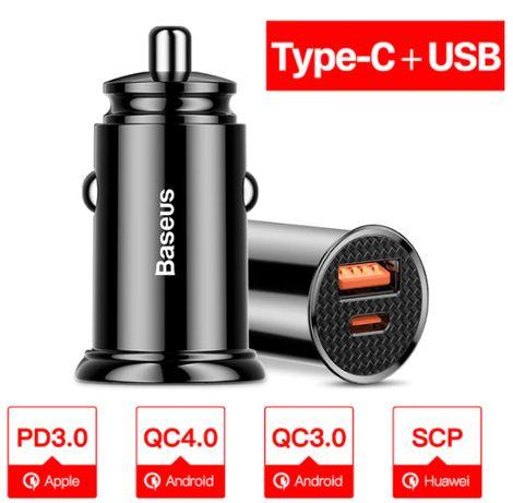 Ładowarka samochodowa Baseus Quick Charge 3.0 30W