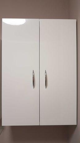Szafka wisząca biały połysk 50 cm