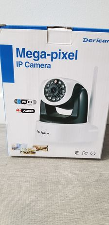 IP Camera , Mega-pixel , Dericam - Biało-Czarna