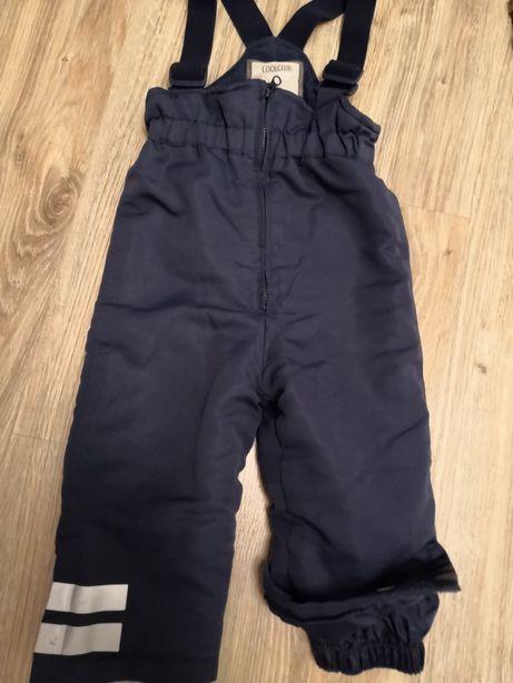 Spodnie na sanki firmy cool club roz. 86