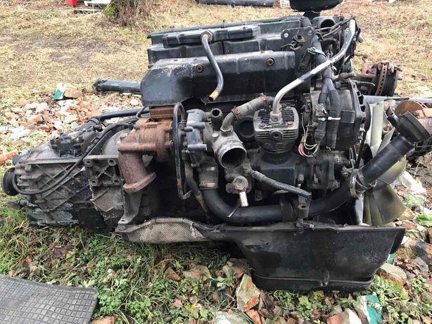 MAN 8.163 шини 215/75 r17.5 двигун радіатор ітеркулер кардан