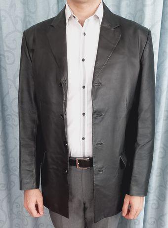 Кожаный пиджак. Куртка. Кожа натуральная