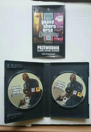POLSKA WERSJA Grand Theft Auto-San Andreas Premium Games na PC DVD ROM