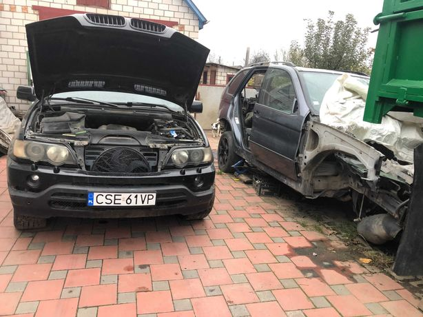 BMW X5 e53 m62b44 REMUS