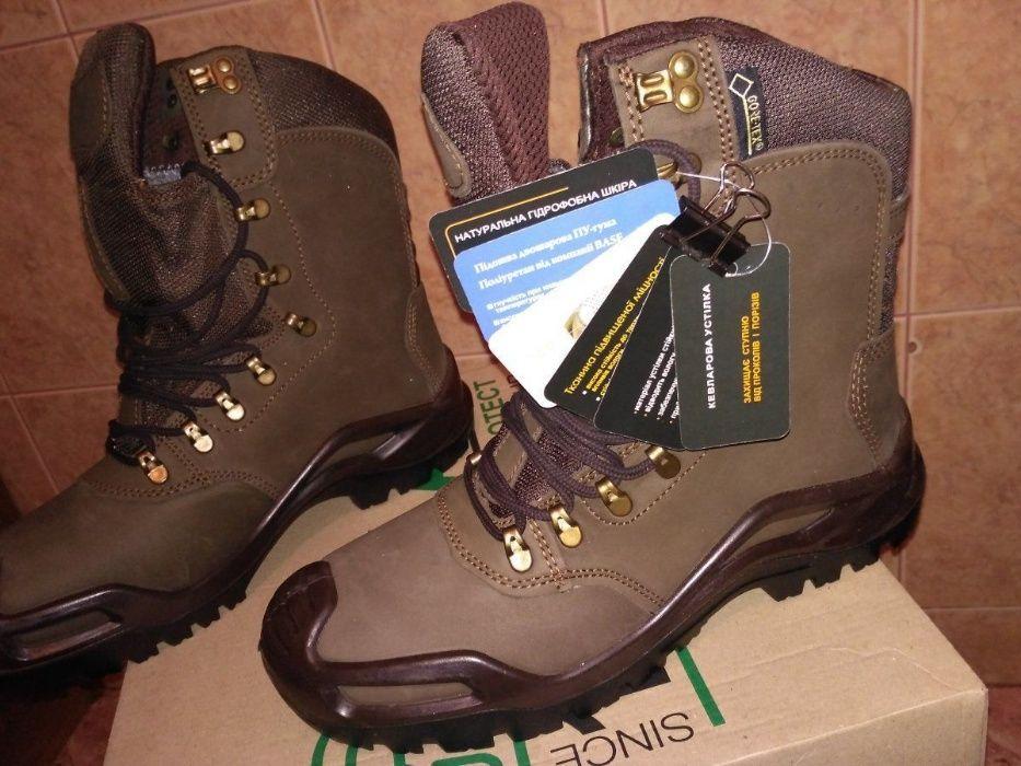 Buty trekkingowe gore-tex Talan gtx, brązowe na wojskowe, wędrówki