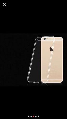 чехол iPhone 6+ 7 7+ силиконовый прозрачный ультро тонкий