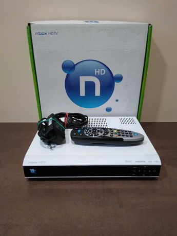 Dekoder NBOX HDTV ITI-5800S z pilotem i zasilaczem