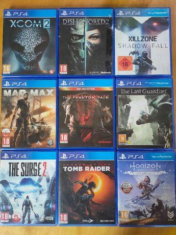 Komplet gier na PS4, Horizon Zero Down, Surge 2 i inne