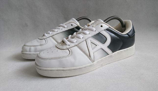 Кроссовки кожаные Armani Jeans Оригинал Размер 42 по стельки 27 см
