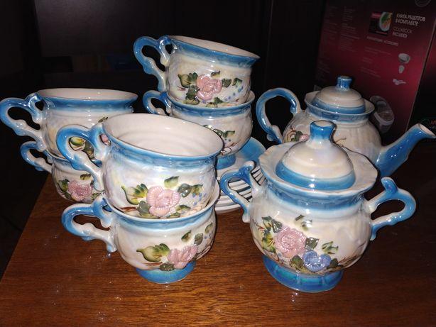 Чайный сервиз (набор 14 предметов)