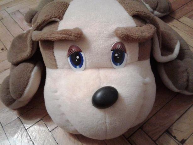 Игрушка-пуф собака
