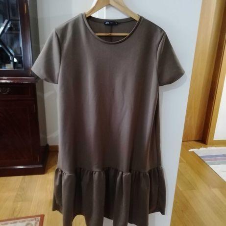 Vestido Zara T/L-Nunca Usado