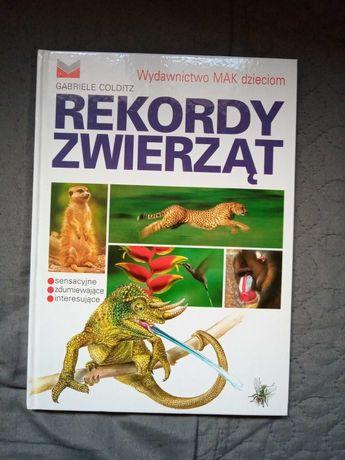 """Książka """"Rekordy zwierząt"""""""