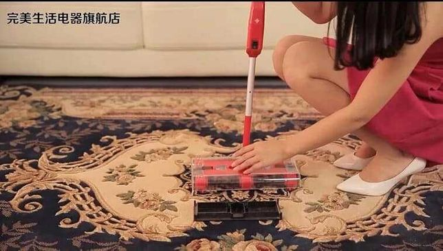 Vassoura elétrica aspirador de pó casa apartamento vivenda