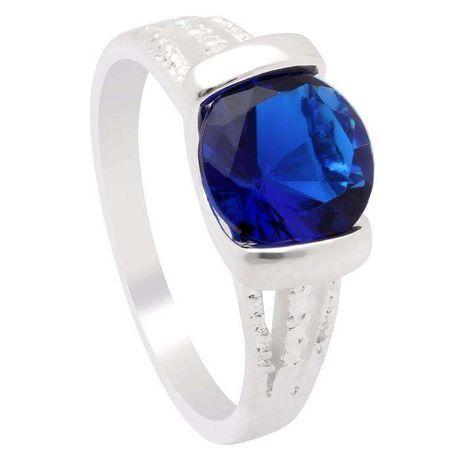 Srebrny pierścionek z cyrkonią,próba 925,rozmiary-15,16