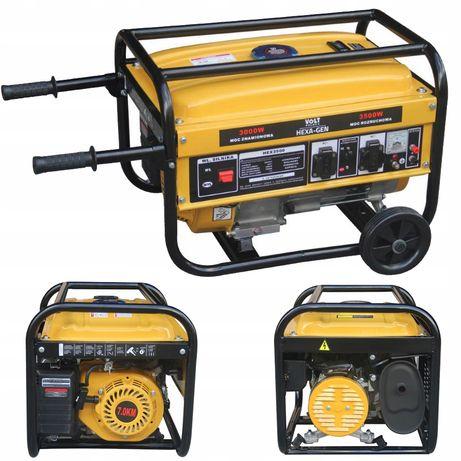 Agregat prądotwórczy generator prądu 3500W 7Km (PRZ140)
