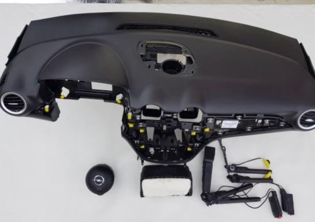 Opel Adam tablier airbags cintos