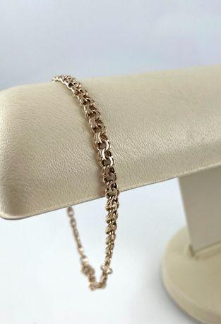 Złota bransoletka splot GALIBARDI PR. 585 (14K) długość 21,5 CM