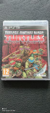 Wojownicze żółwie ninja teenage mutant ninja turtles in Manhattan ps3