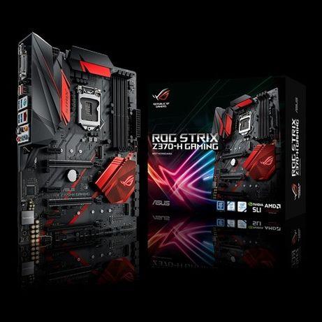 Продам Asus Rog Strix Z370-H Gaming (1151v2,DDR4)