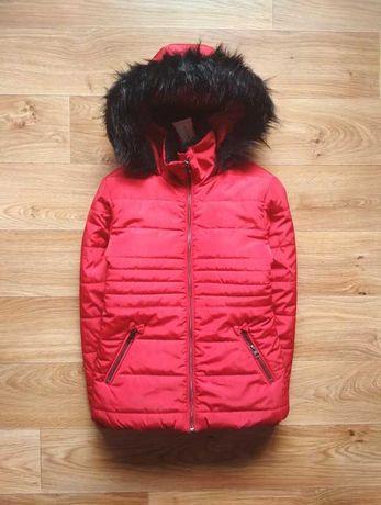 Курточка зимняя Tu на девочку, возраст 9-10 лет