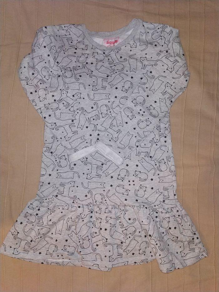 Tunika sukienka bluza ciepła koty 8-9 lat 140-146 Warszawa - image 1