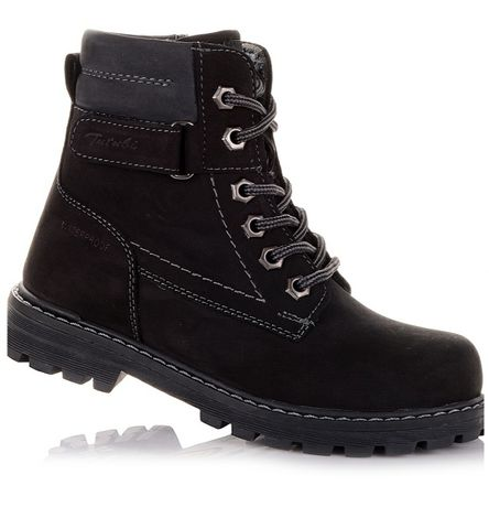 Супер цена!!! Новые демисезонные нубуковые ботинки Tutubi 37р (24)