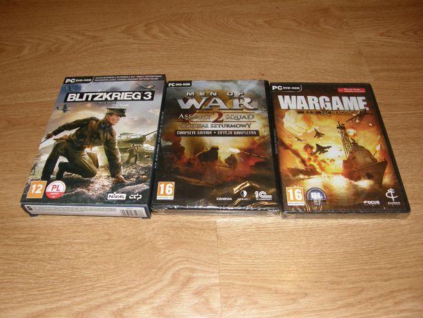NOWE Gry PC Blitzkrieg 3 PL, Men of War 2 Complete Edition, Wargame