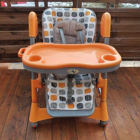 Fotelik / krzesełko do karmienia ze stoliczkiem