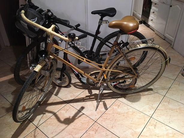 Rower gazela wygodny oldschool holenderka