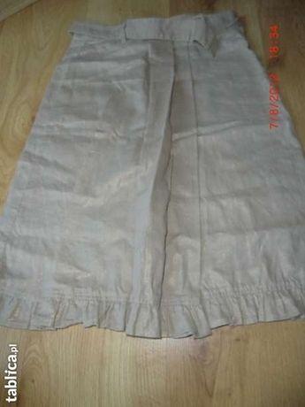 Spódnica beżowa