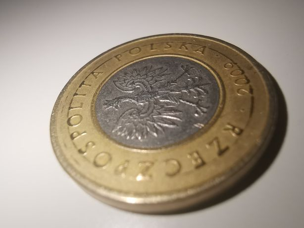Moneta 2zł 2009 destrukt. Pierścień.