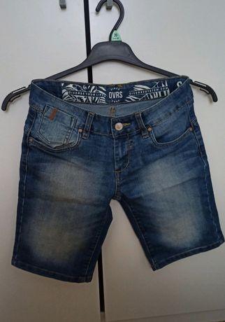 Jeansowe spodenki/szorty przed kolano Diverse