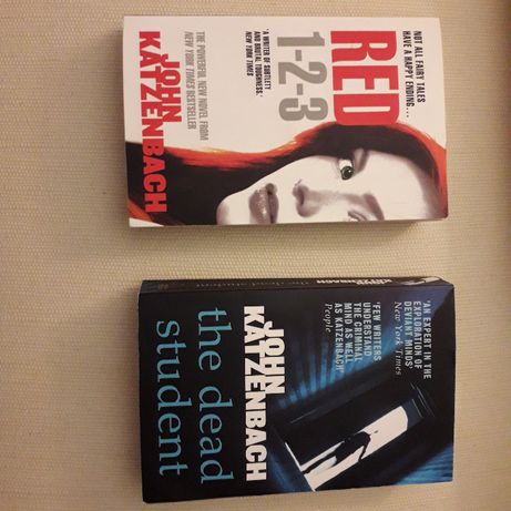 2 THRILLER /livro bolso em inglês/ paperback / JOHN KATZENBACH
