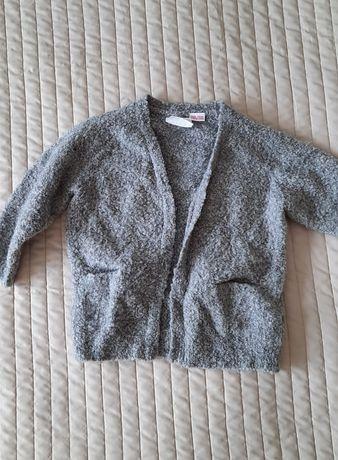 Kardigan sweter szary Zara 92 98