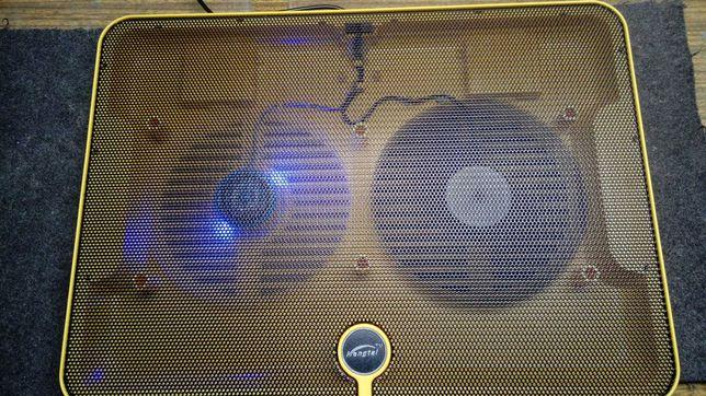 Охлаждающая подставка для ноутбука 35х25 см 2 вентилятора